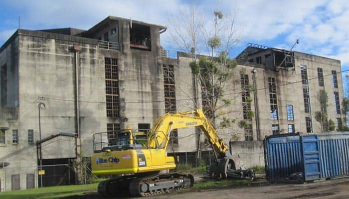 Demolitions and Asbestos Removal - Renewable Oil